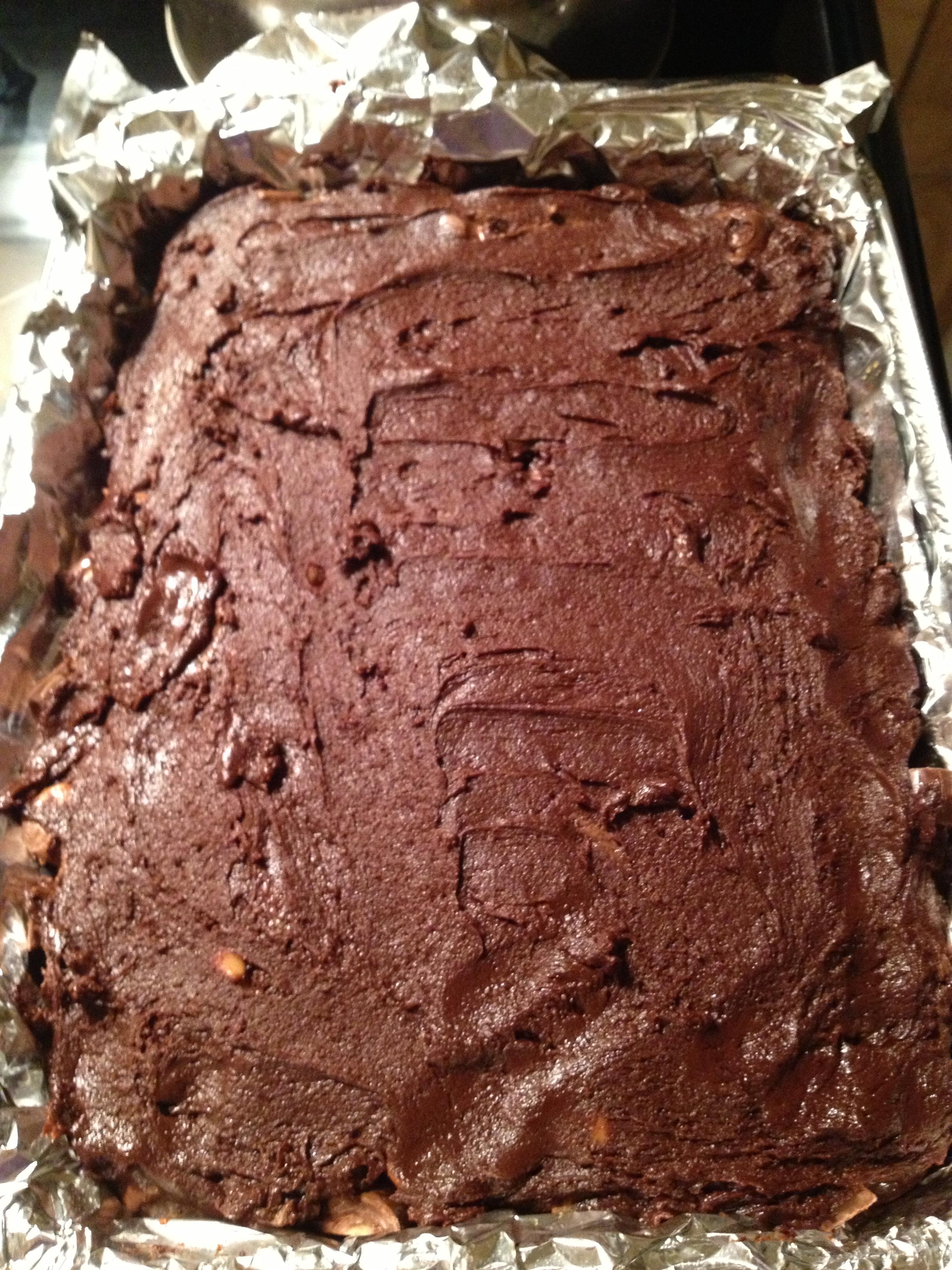 Fudge Rolo Brownies | Triathlete Treats