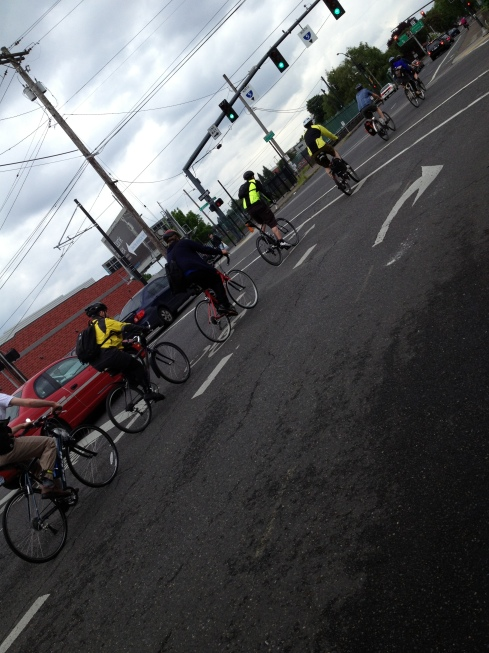 Northeast Bike Boulevard craziness!