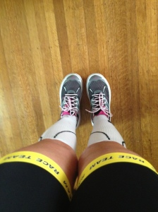 Another run in the Hokas!