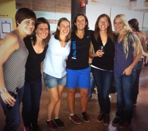 Lauren, Jesica, Kristen, Me, Kara, and Sarah