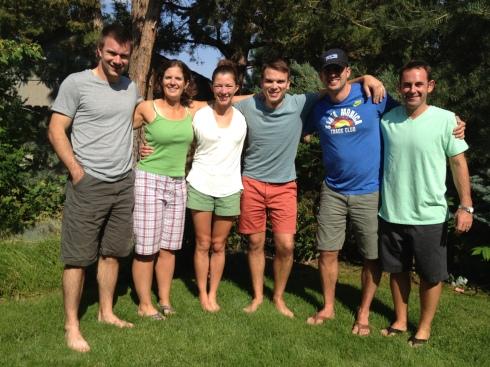 JJ, Me, Kara, Todd, Nathan, and Amato