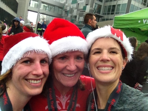 Kat, Michele, & I--right after we finished!