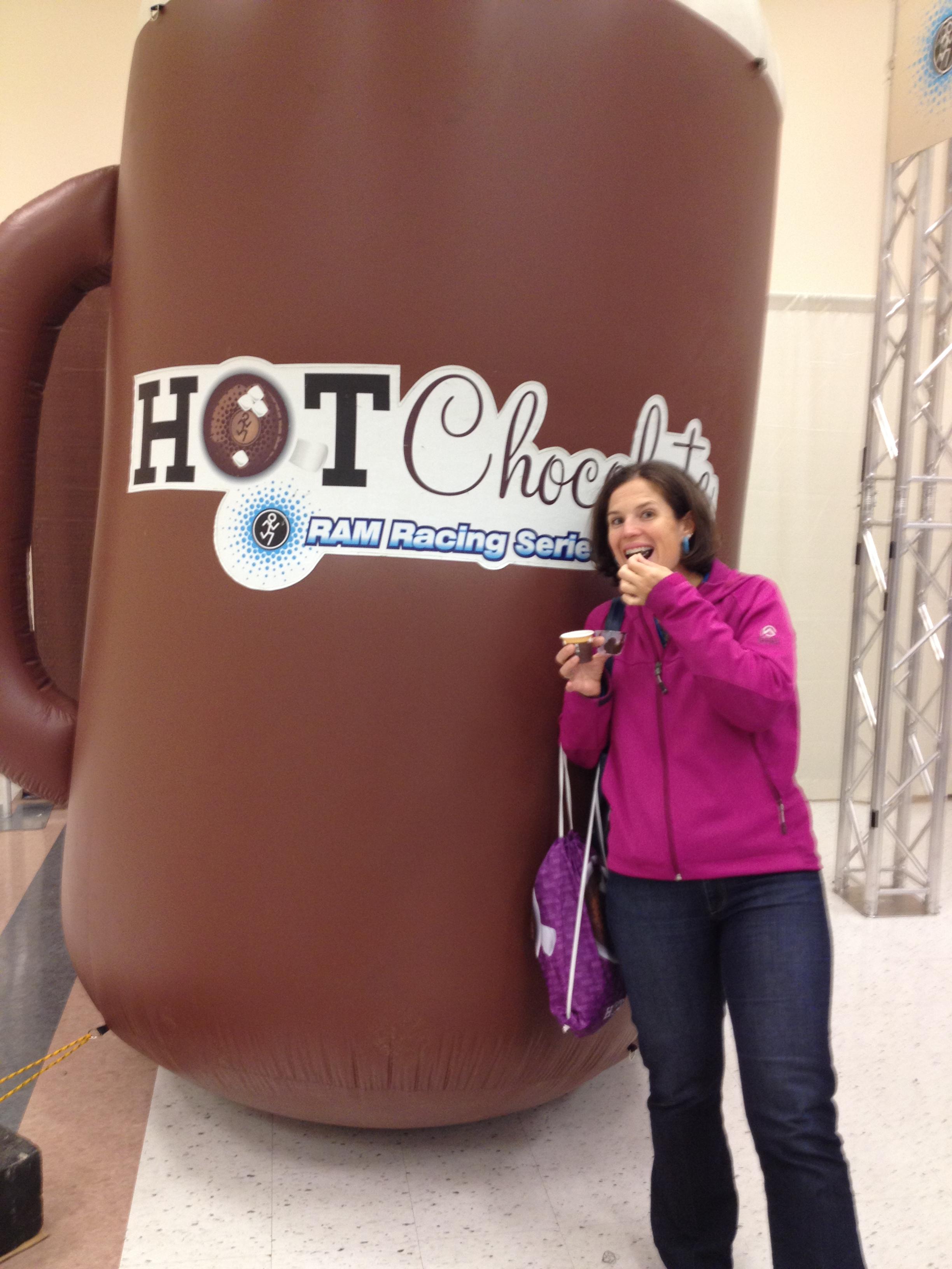 hot chocolate 15K | Triathlete Treats