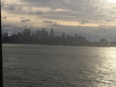 Not a bad view from the ferry!