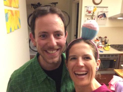 My cupcake headband I wear every year!!